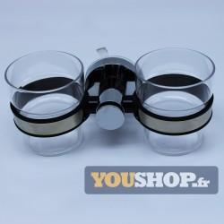 support gobelets 2 verres
